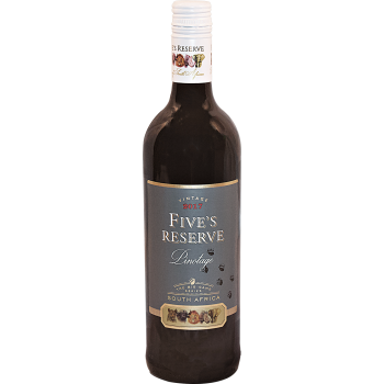 FIVE'S RESERVE PINOTAGE 2017