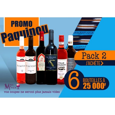 Promo Paquinou - Pack2 Bleu
