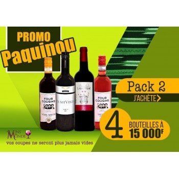 Promo Paquinou - Pack2 Vert