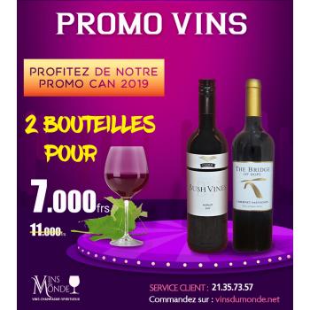 Promo sélection 2 bouteilles
